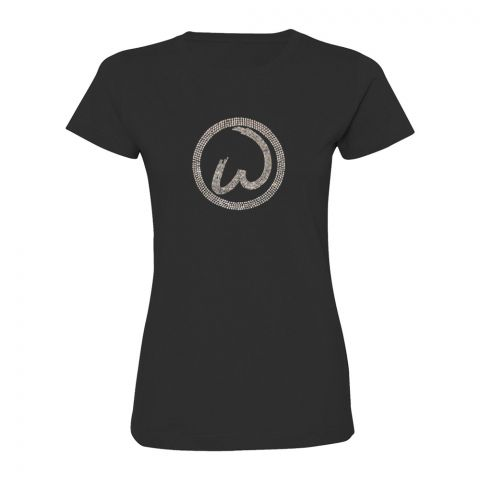 Ladies Round Neck Bling Tee