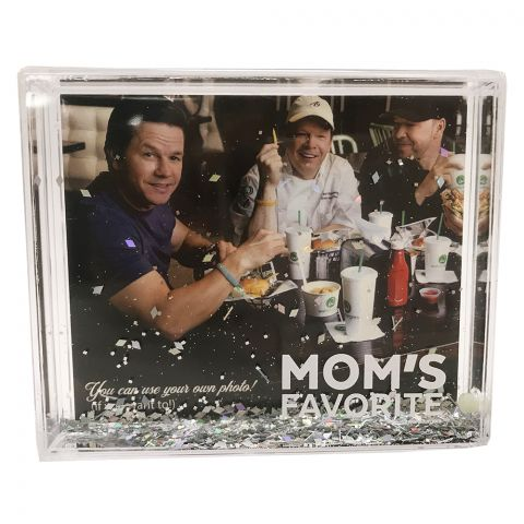 Snow Globe Picture Frame