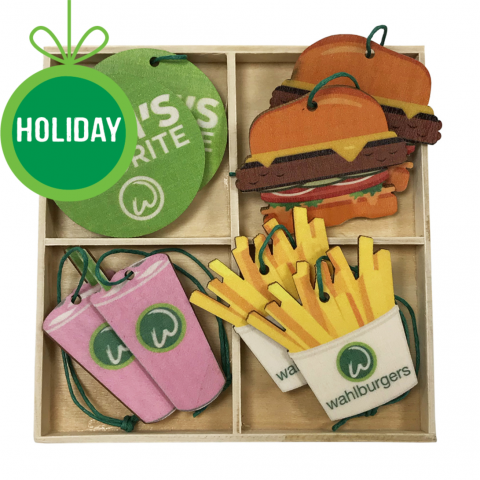 Wahlburgers 8-piece Ornament Set