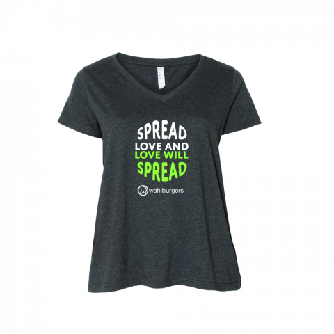 Spread Love Curvy T-Shirt