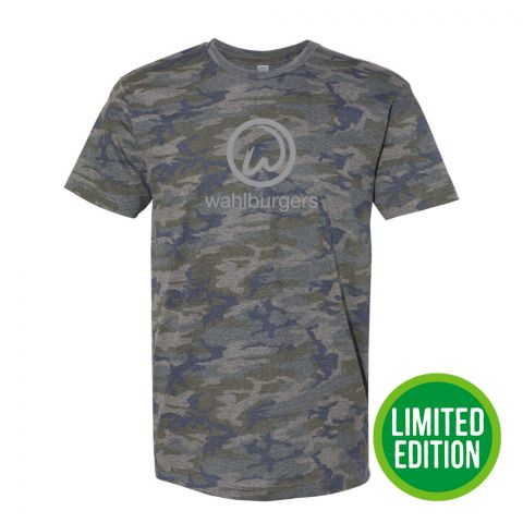 Short Sleeve Camo T-Shirt