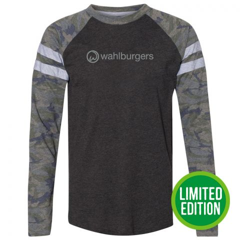 Game Day Long Sleeve Camo T-Shirt