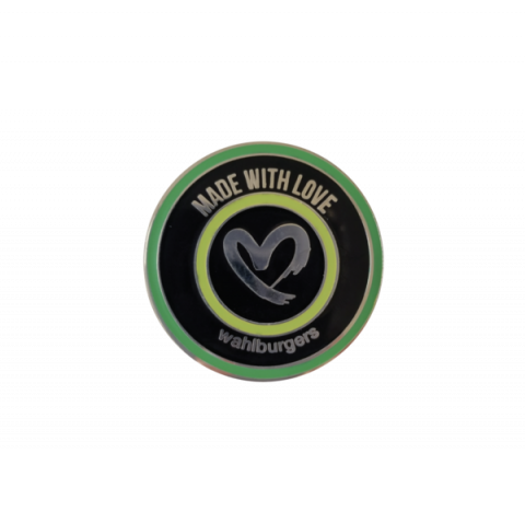 "Collectible ""Made with Love"" Pin"