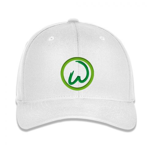 Performance Flex Fit White Hat