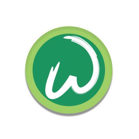 W logo Magnet