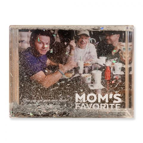 Picture Frame with Glitter