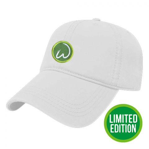 Wahlburgers White Twill Cap